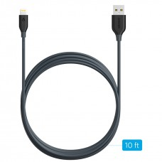 Anker Nylon-Braided USB to Lightning cable powerline 180 cm, Gray
